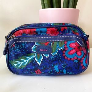 🎉5/20 SALE🎉Oilily Floral Zippered Cosmetic Pouch